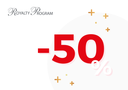 50% sur le catalogue Royalty Program !